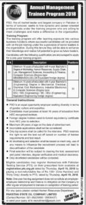 Pakistan State Oil PSO Jobs 2018