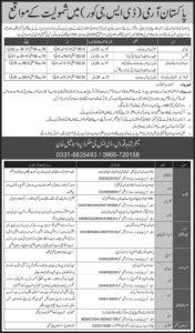 Pak Army DSG Core Jobs 2018