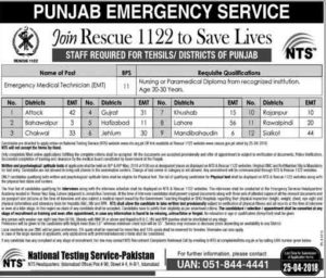 RESCUE 1122 EMT Jobs 2018
