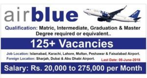 airblue jobs 2018