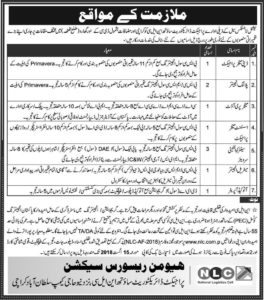 Jobs in National Logistics Cell