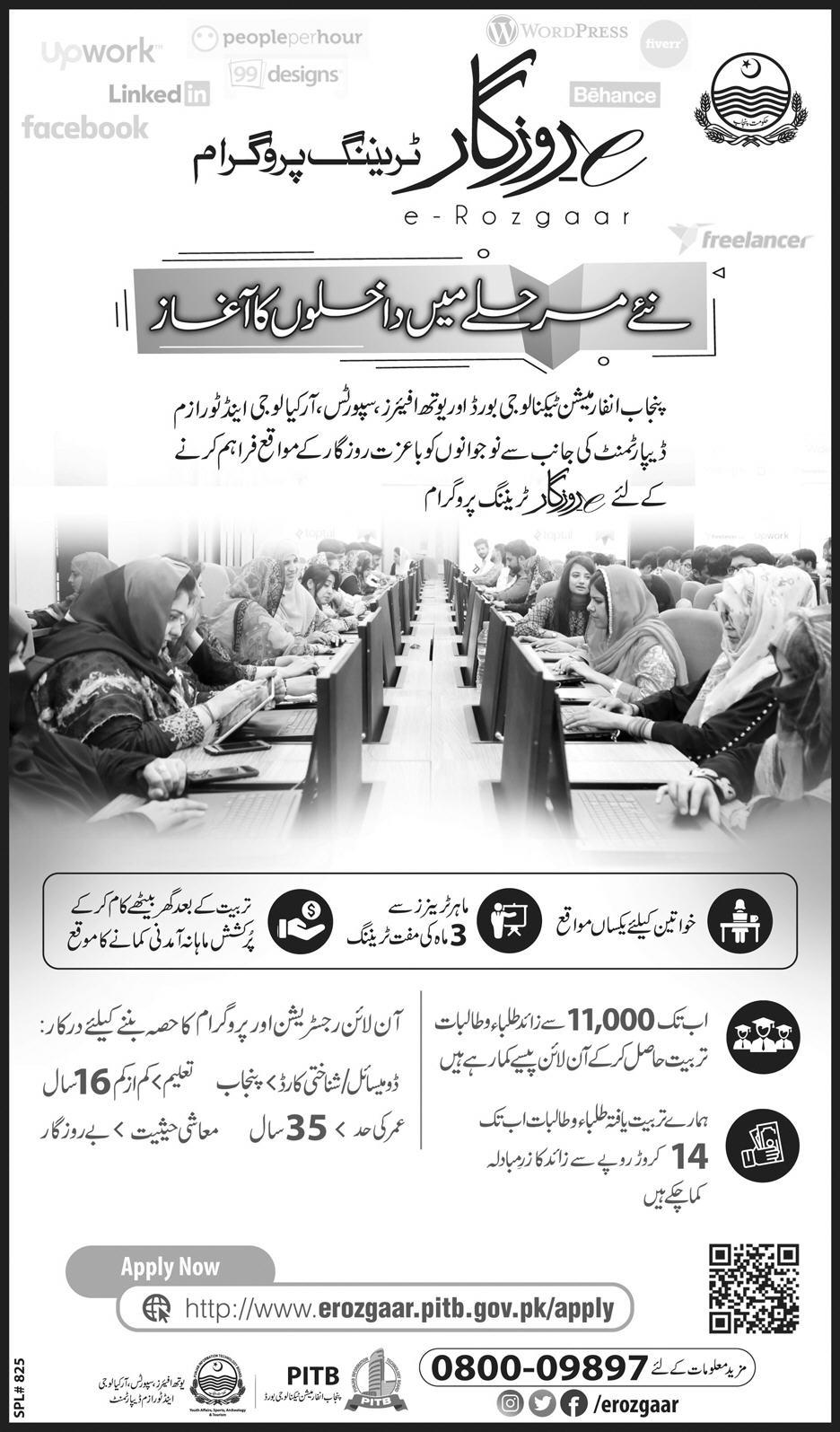 Chief Minister e-Rozgaar Program