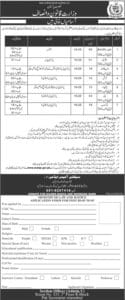 Ministry of Law and Justice Pakistan Jobs