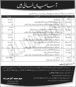 Headquarter 477 Army Survey Group Engineers Jobs Rawalpindi