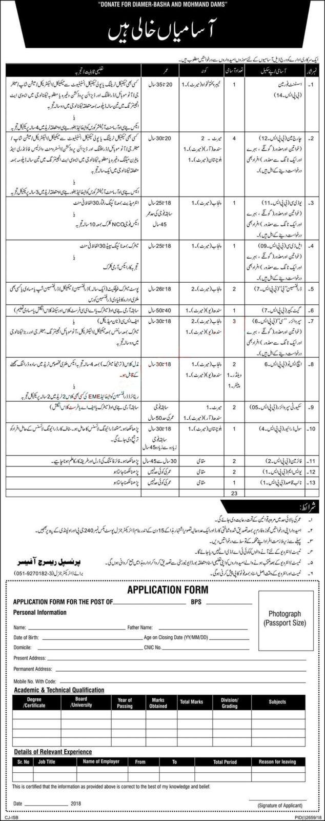 PO Box 240 GPO Rawalpindi Jobs