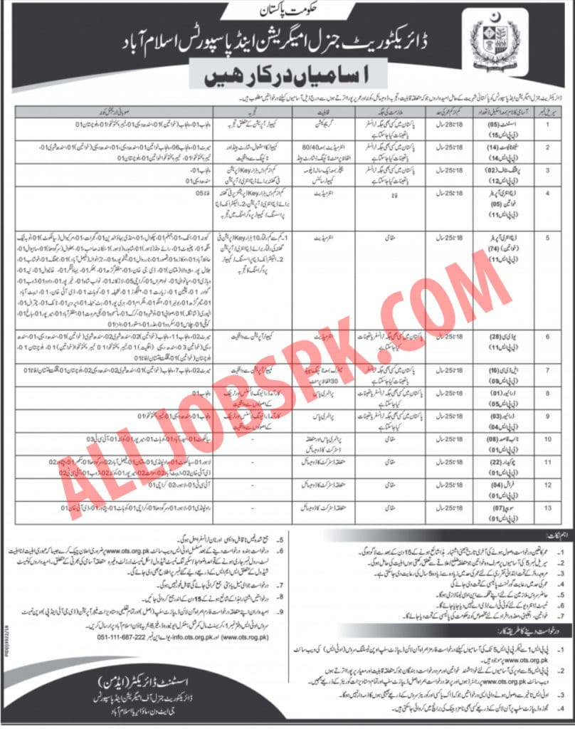 Ministry Of Interior Jobs 2019
