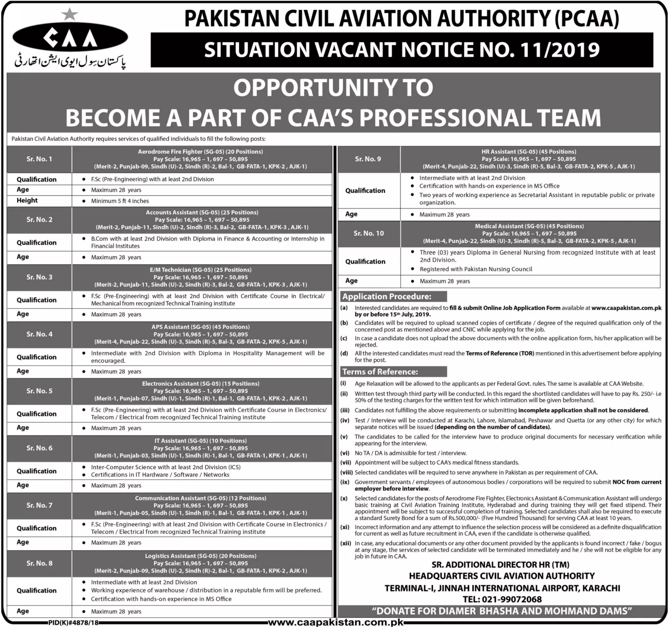 Civil Aviation Authority Jobs