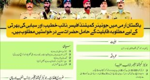 Join Pak Army as Soldier 2021 Online Registration Latest