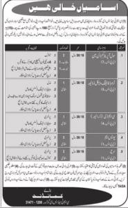 Army Jobs For Civilians CMT & SD Golra Rawalpindi Cantt
