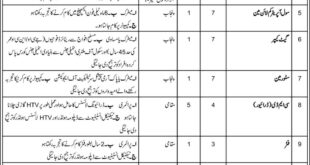 Pakistan Army Central Ordnance Depot COD Jobs