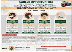 Pakistan Railways Government of Pakistan Jobs 2020