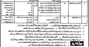 Wildlife Department Jobs 2020 Khyber Pakhtunkhwa