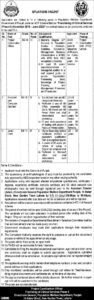 Population Welfare Department Punjab Jobs 2021
