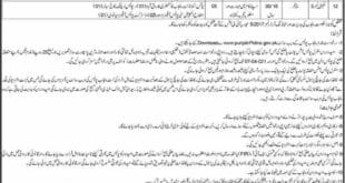 Punjab Police Jobs 2021 for Scale 1 to 3 - All Jobs Pk