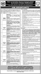 Water And Sanitation Services Company Job 2021